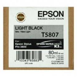 Epson T5807 - Light Black