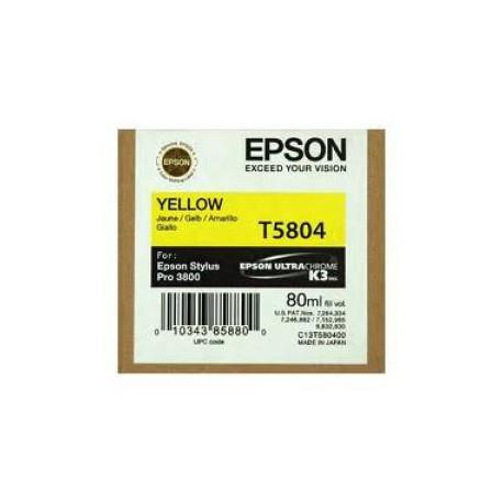 Epson T5804 - Yellow