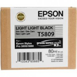 Epson T5809 - Light light black