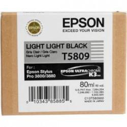 Epson T5809 - Light light black