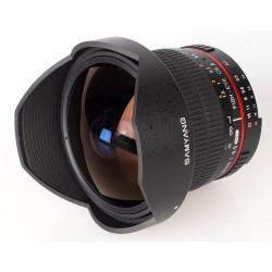 Samyang 8/3.5 Aspherical UMC AE CS II Fish-eye Nikon