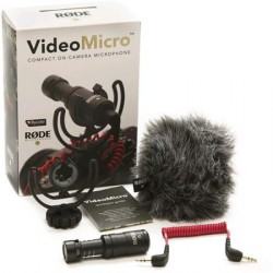 Rode Microphone VideoMicro avec support RYCOTE
