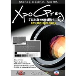 Scuadra Charte d'exposition Xpo Grey Small