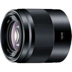 Sony E 50/1.8 OSS Noir
