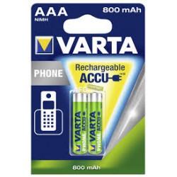 Varta Accu LR3 x 2 800 mAh