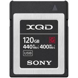 Sony XQD 120 Gb Série G 440/400 Mb/s