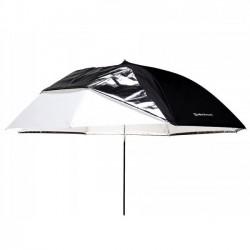 Elinchrom Parapluie Shallow 2 en 1 Blanc/Translucide 85cm