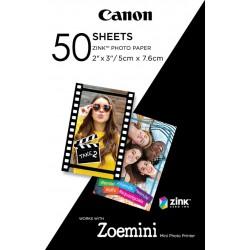 Canon papier photo ZINK™ 5 x 7,6 cm 50 feuilles