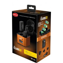 Hahnel Pro Cube 2 SONY Chargeur Double
