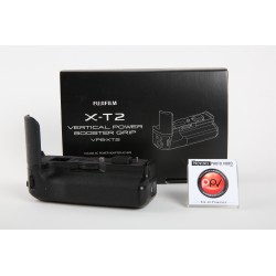 S - Fujifilm Grip Booster VPB-XT2 + 1 Batterie - Occasion