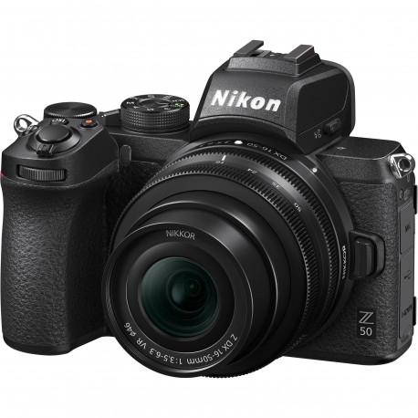 Nikon Z50 + Z 16-50 VR + Bague FTZ