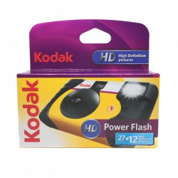 Kodak appareil jetable Power Flash HD 27+12 photos