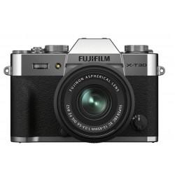 Fujifilm X-T30 II Silver + XC 15-45 /3.5-5.6 OIS PZ Garanti 5 Ans