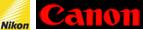 Logo Nikon & Canon